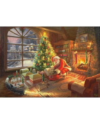 Puzzle Schmidt - Thomas Kinkade: Santa Claus Is Here!, Limited Edition, 1.000 piese (59495)