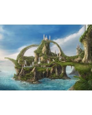 Puzzle Schmidt - Nadegda Mihailova: Island Of Waterfalls, 1.000 piese (59610)