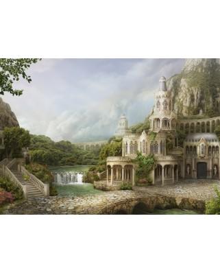 Puzzle Schmidt - Nadegda Mihailova: Mountain Palace, 1.000 piese (59611)