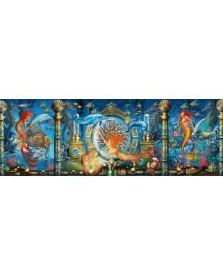 Puzzle panoramic Schmidt - Ciro Marchetti: Underwater World, 1.000 piese (59613)