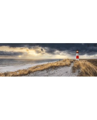 Puzzle panoramic Schmidt - Manfred Voss: Lighthouse, Sylt, 1.000 piese (59622)
