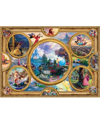 Puzzle Schmidt - Thomas Kinkade: Disney Dreams Collection, 2000 piese (59607)