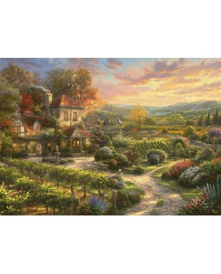 Puzzle Schmidt - Thomas Kinkade: In The Vineyards, 2.000 piese (59629)