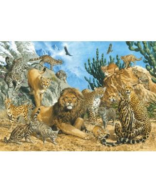 Puzzle Schmidt - Big Cats, 500 piese (58372)
