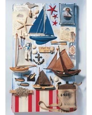 Puzzle Schmidt - Maritime Potpourri, 1.000 piese (58381)