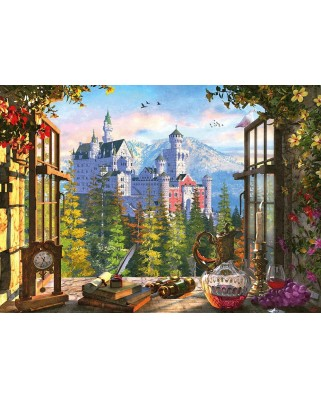 Puzzle Schmidt - View Of The Fairytale Castle, 1.000 piese (58386)