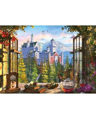 Puzzle Schmidt - View Of The Fairytale Castle, 1000 piese (58386)