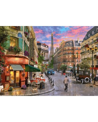 Puzzle Schmidt - Street To The Eiffel Tower, 1.000 piese (58387)