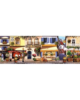 Puzzle panoramic Schmidt - A Stroll Through Paris Panorama, 1.000 piese (58383)