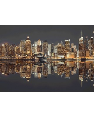 Puzzle Schmidt - New York Skyline At Night, 1500 piese (58382)