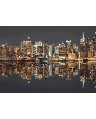 Puzzle Schmidt - New York Skyline At Night, 1500 piese (58382)