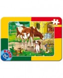 Puzzle D-Toys - Vaci, 12 piese (60181-3)