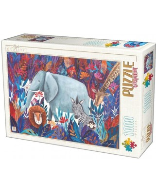 Puzzle D-Toys - Andrea Kurti: Tropical, 1.000 piese (72887-04)