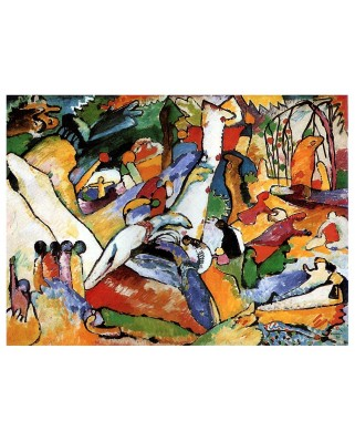 "Puzzle D-Toys - Vassily Kandinsky: Sketch for ""Composition II"" / study, 1.000 piese (72849-1)"