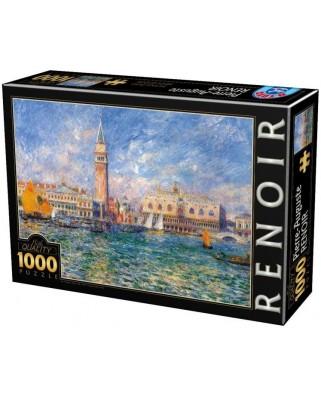 Puzzle D-Toys - Auguste Renoir: The Doge's Palace, 1.000 piese (66909-8)