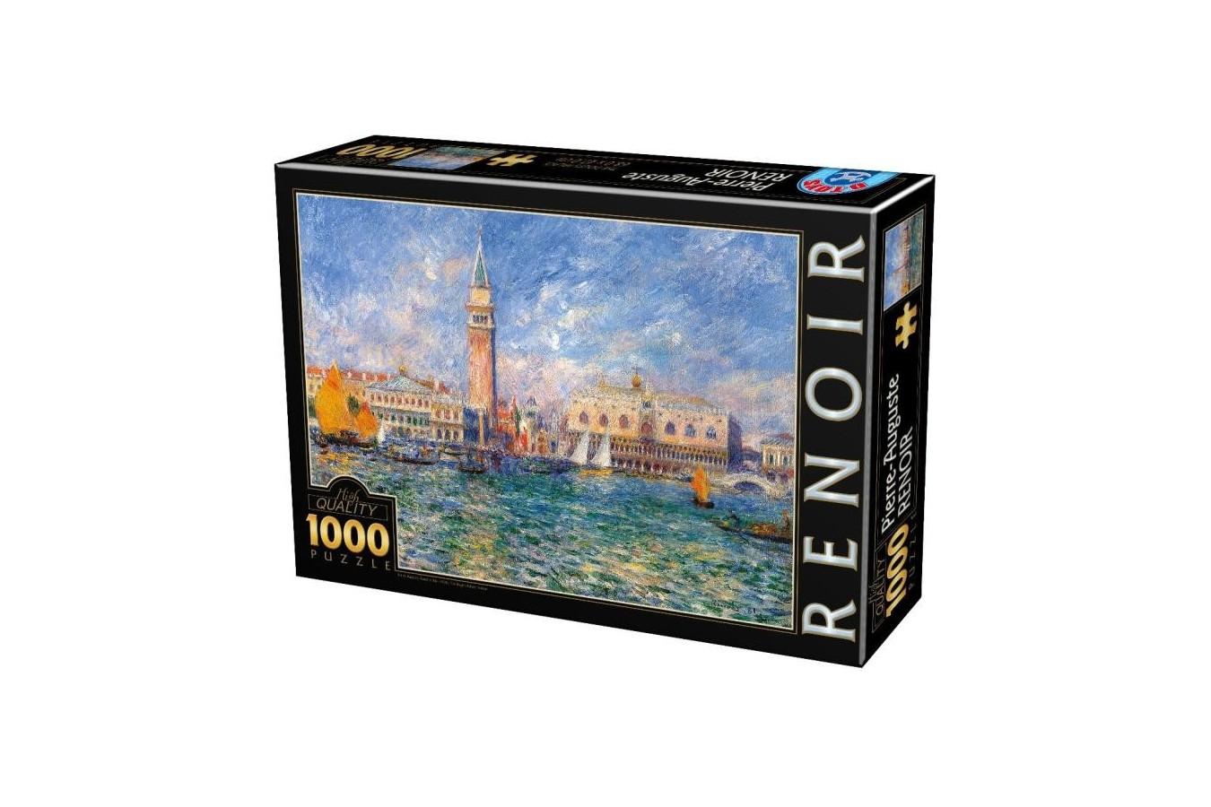 Puzzle D-Toys - Auguste Renoir: The Doge's Palace, 1000 piese (66909-8)