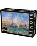 Puzzle D-Toys - Auguste Renoir: The Doge's Palace, 1.000 piese (66909-8)