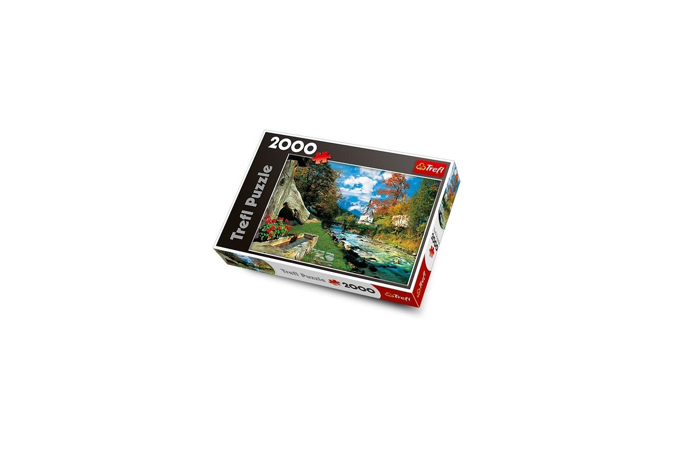 Puzzle Trefl - Bavarian Alps, Germany, 2000 piese (27061)