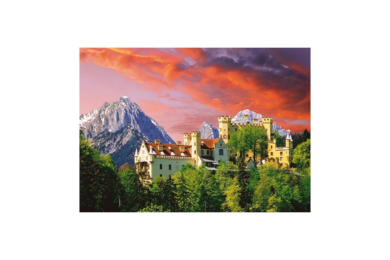 Puzzle Trefl - The Hohenschwangau Castle, Bavaria, 2000 piese (27053)