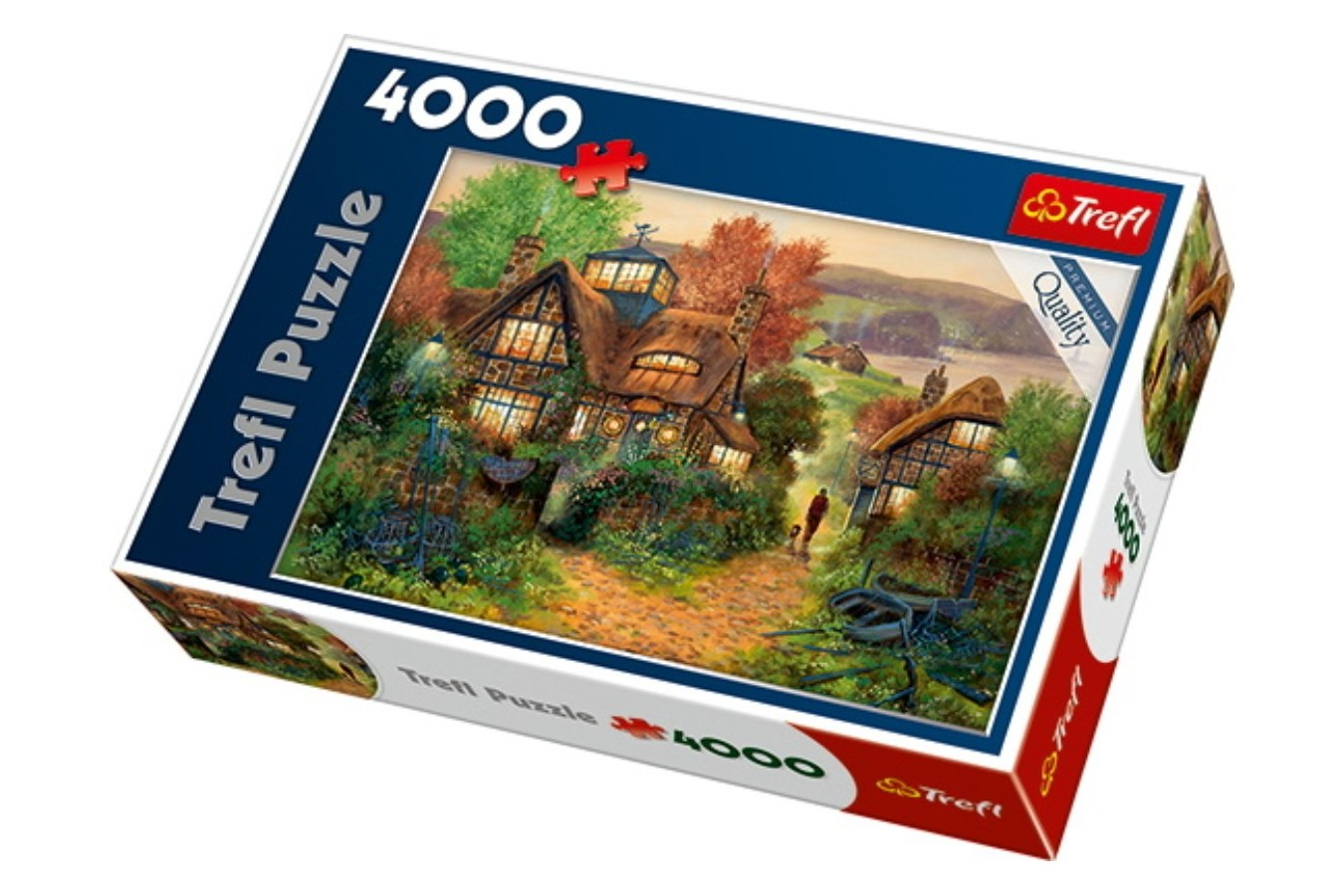 Puzzle Trefl - Mariner's Rest, 4000 piese (45002)