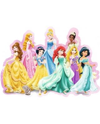 Puzzle glob Ravensburger - Printesele Disney, 72 piese (05581)