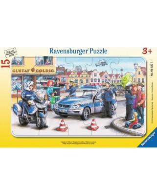 Puzzle Ravensburger - Departamentul Politiei, 15 piese (06037)