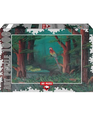 Puzzle Art Puzzle - Ahmet Yesil: The Guest of the Forest, 1.000 piese (Art-Puzzle-61015)
