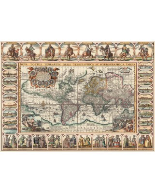 Puzzle Art Puzzle - Ancient World Map, 2.000 piese (Art-Puzzle-4711)