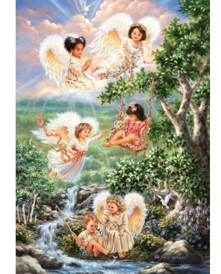 Puzzle Art Puzzle - Angels of Hope, 1.000 piese (Art-Puzzle-4349)