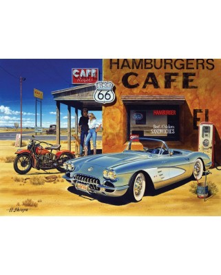 Puzzle Art Puzzle - Arizona Cafe, 1500 piese (Art-Puzzle-4642)