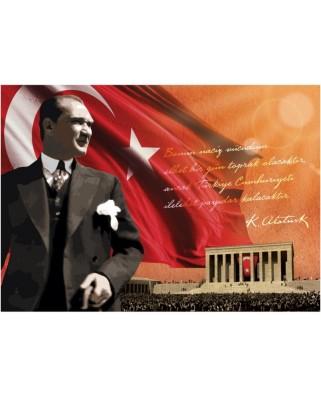 Puzzle Art Puzzle - Ataturk, 1500 piese (Art-Puzzle-4547)
