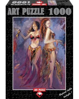 Puzzle Art Puzzle - Belly-Dancer, 1.000 piese (Art-Puzzle-81061)