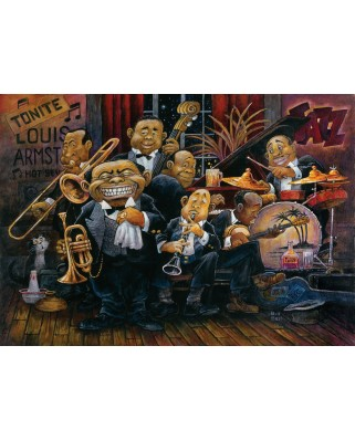 Puzzle Art Puzzle - Bill Bell: Louis Armstrong, 1500 piese (Art-Puzzle-4607)