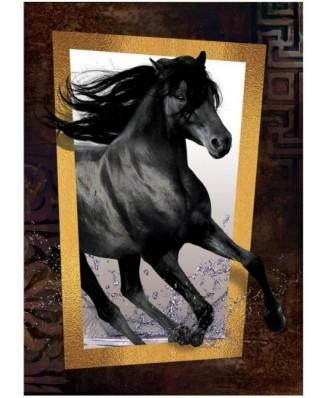 Puzzle Art Puzzle - Black Horse, 1.000 piese (Art-Puzzle-4376)