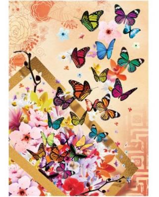 Puzzle Art Puzzle - Butterflies, 500 piese (Art-Puzzle-4200)