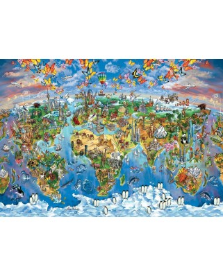 Puzzle Art Puzzle - Colours from the World, 260 piese (Art-Puzzle-4278)