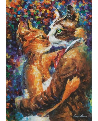 Puzzle Art Puzzle - Dance of the Cats in Love, 1.000 piese (Art-Puzzle-4226)