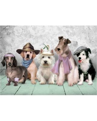 Puzzle Art Puzzle - Dogs, 500 piese (Art-Puzzle-4205)