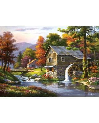 Puzzle Art Puzzle - Dominic Davison: Old Sutter's Mill, 1500 piese (Art-Puzzle-4640)
