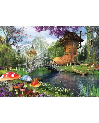 Puzzle Art Puzzle - Dominic Davison: The Old Shoe House, 1.000 piese (Art-Puzzle-4467)
