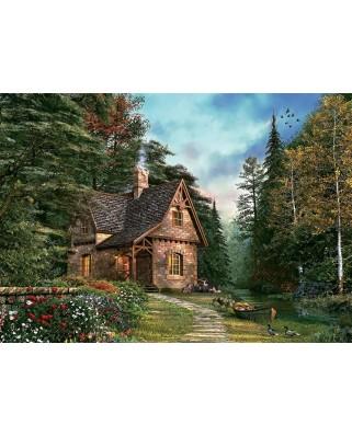 Puzzle Art Puzzle - Dominic Davison: Woodland Cottage, 1500 piese (Art-Puzzle-4621)