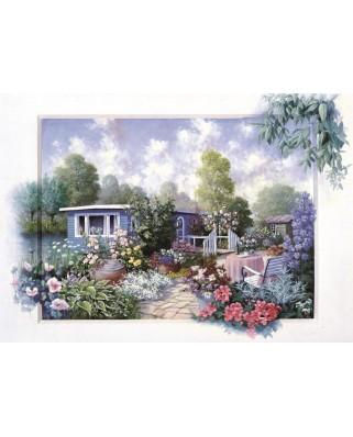 Puzzle Art Puzzle - Floral Garden, 500 piese (Art-Puzzle-4211)
