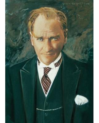 Puzzle Art Puzzle - Ghazi Mustafa Kemal Ataturk, 1.000 piese (Art-Puzzle-4402)