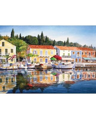 Puzzle Art Puzzle - Grecia - Fiscardo, 1.000 piese (Art-Puzzle-4412)