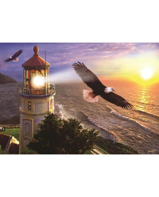 Puzzle Art Puzzle - High Flight at the Sun Rise, 1.000 piese (Art-Puzzle-4221)