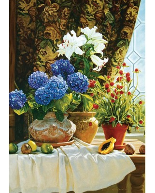 Puzzle Art Puzzle - Hydrangeas, 1500 piese (Art-Puzzle-4623)