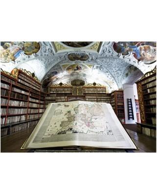 Puzzle Art Puzzle - Library, 1.000 piese (Art-Puzzle-4379)