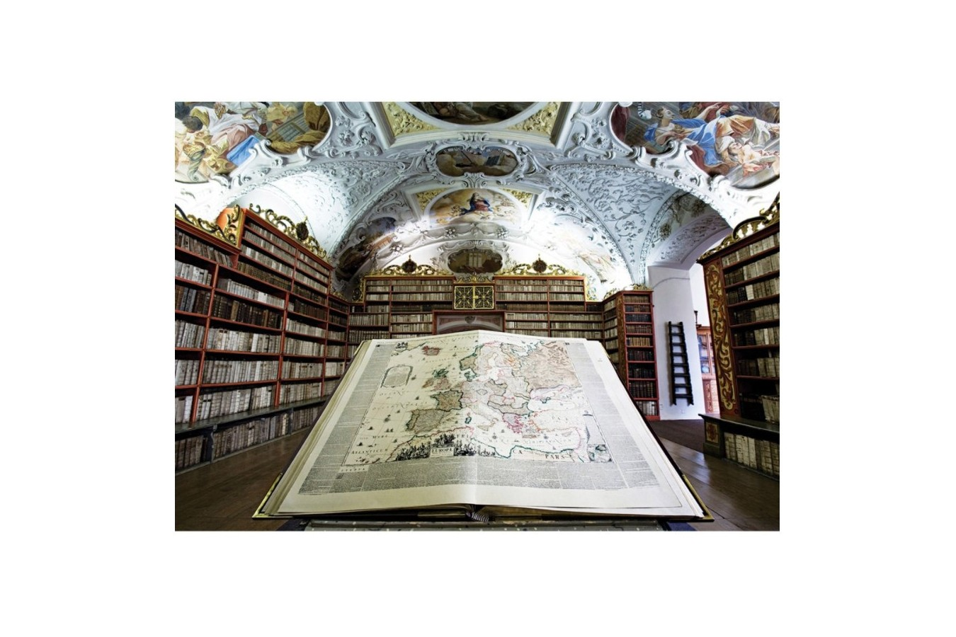 Puzzle Art Puzzle - Library, 1.000 piese (Art-Puzzle-4379)