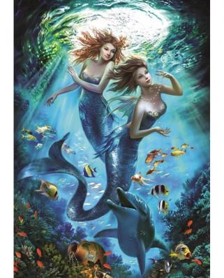Puzzle Art Puzzle - Mermaids, 500 piese (Art-Puzzle-4209)