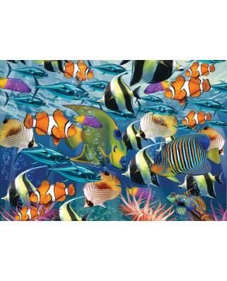 Puzzle Art Puzzle - Multi Fish, 260 piese (Art-Puzzle-4270)